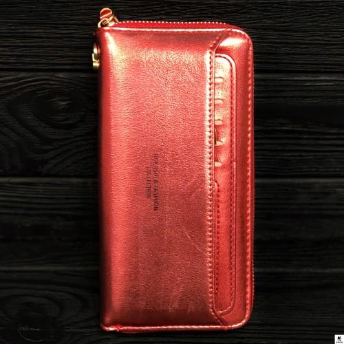 Клатч женский Boershi Y18002 красный