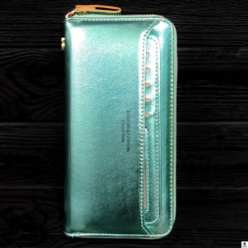 Клатч женский Boershi Y18002 зелёный