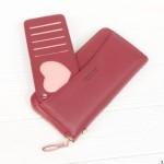 Клатч женский Boershi Y18003 красный