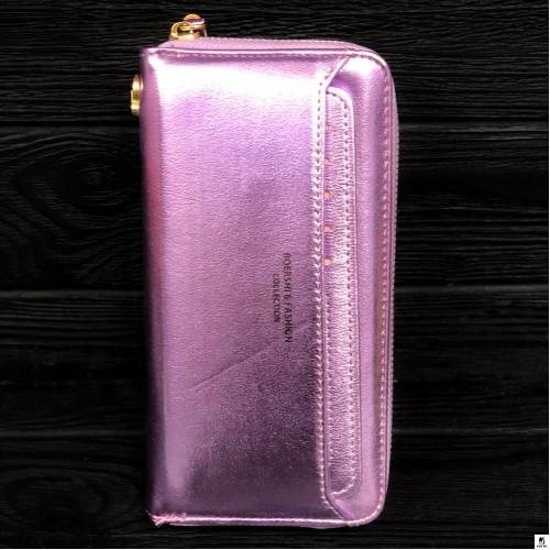 Клатч женский Boershi Y18002 фиолетовый