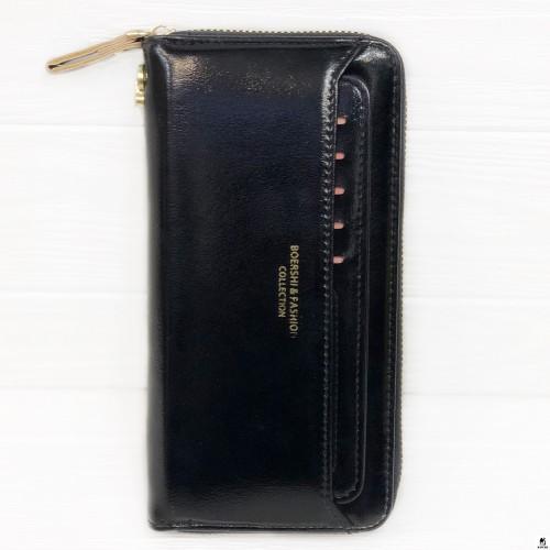Клатч женский Boershi Y18002 чёрный