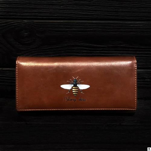 Кошелёк женский Tailian T806-013 коричневый