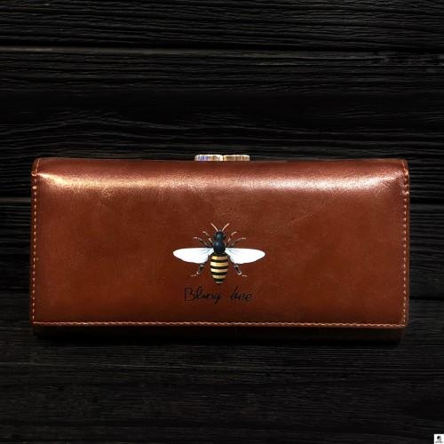 Кошелёк женский Tailian T8707-004 коричневый